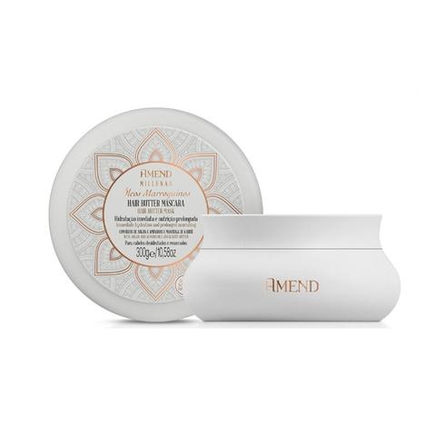 Amend Увлажняющая маска для сухих волос с марокканскими маслами / Millenar Óleos Marroquinos Mask 300 гр
