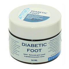 Sagitta, Крем-бальзам для диабетической стопы, 50 мл