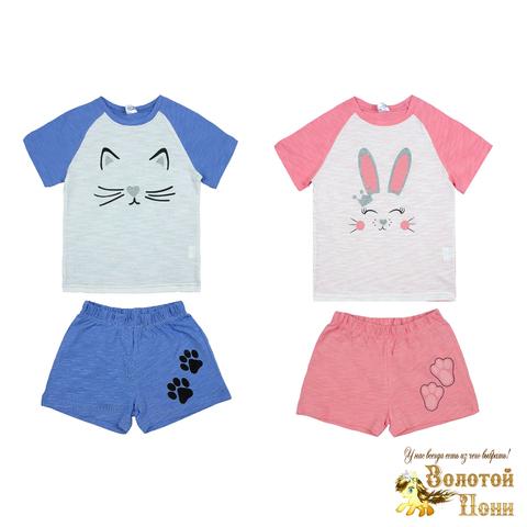 Пижама хлопок девочке (3-7) 210523-OP1088.1
