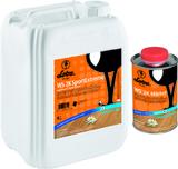 LOBADUR WS 2K SportExtreme (5 кг) полуматовый двухкомпонентный водный паркетный лак