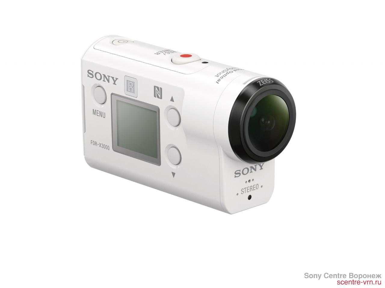 Sony FDR-X3000R купить в Sony Centre Воронеж