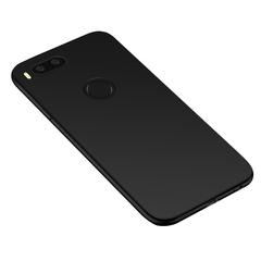Силиконовый чехол для Xiaomi Mi A1 (Черный)