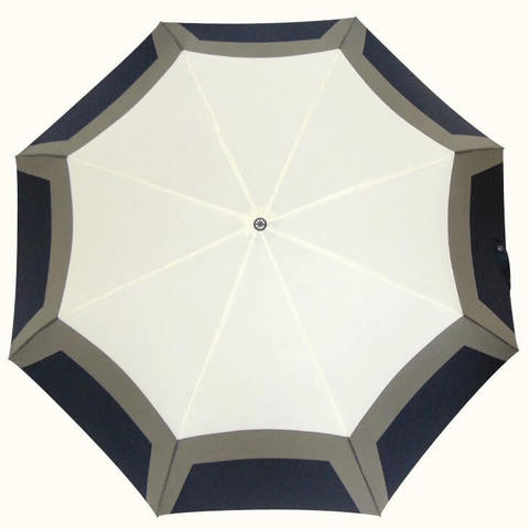 Купить женский зонт черно белый