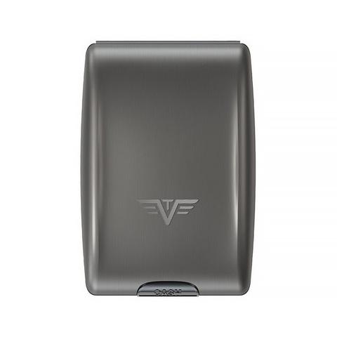 Кошелек c защитой Tru Virtu Oyster, темно-серый , 102x70x27 мм
