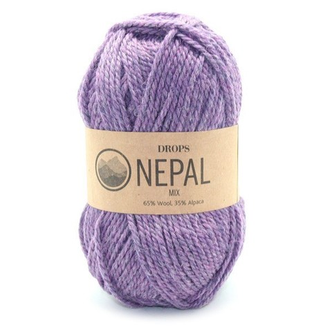 Пряжа Drops Nepal 4434 фиолетовый