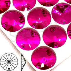 Rivoli Fuchsia пришивные стеклянные стразы купить в интернет магазине Strazok.ru
