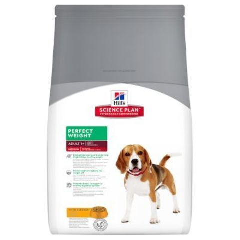 10 кг. HILL'S Science Plan Сухой корм для взрослых собак средних пород