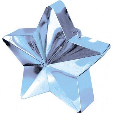 Грузик д/шара Звезда светло-голуб 170грA