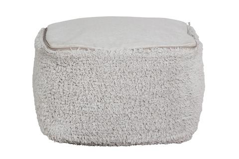 Пуф Lorena Canals Marshmallow Square Pearl Grey (18x30x39 см)