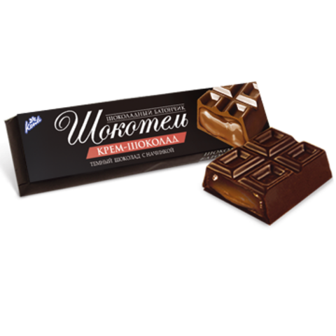 Шоколад батончик «ШОКОТЕЛЬ» Крем-шоколад  50 г