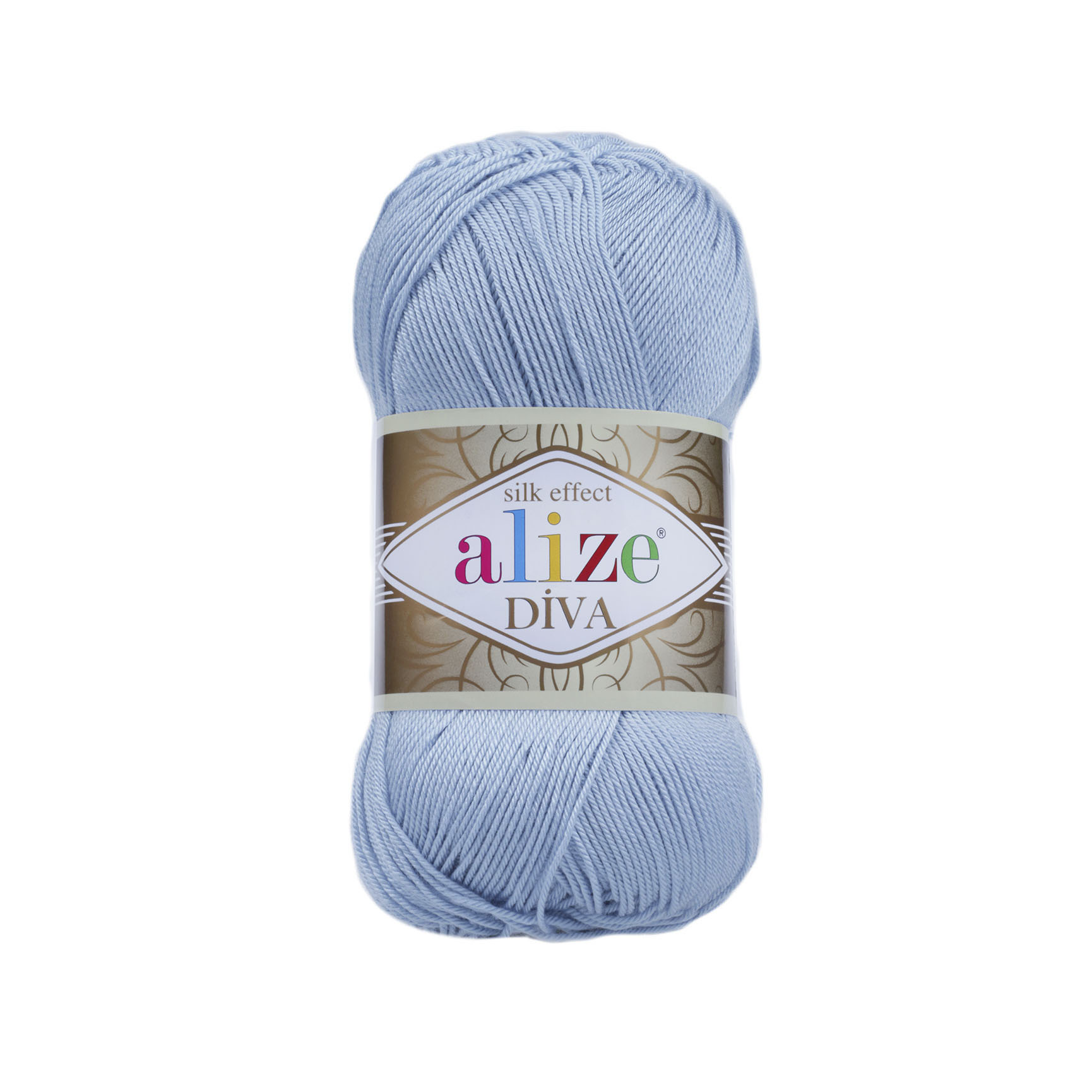 Пряжа Alize Diva 350 голубой