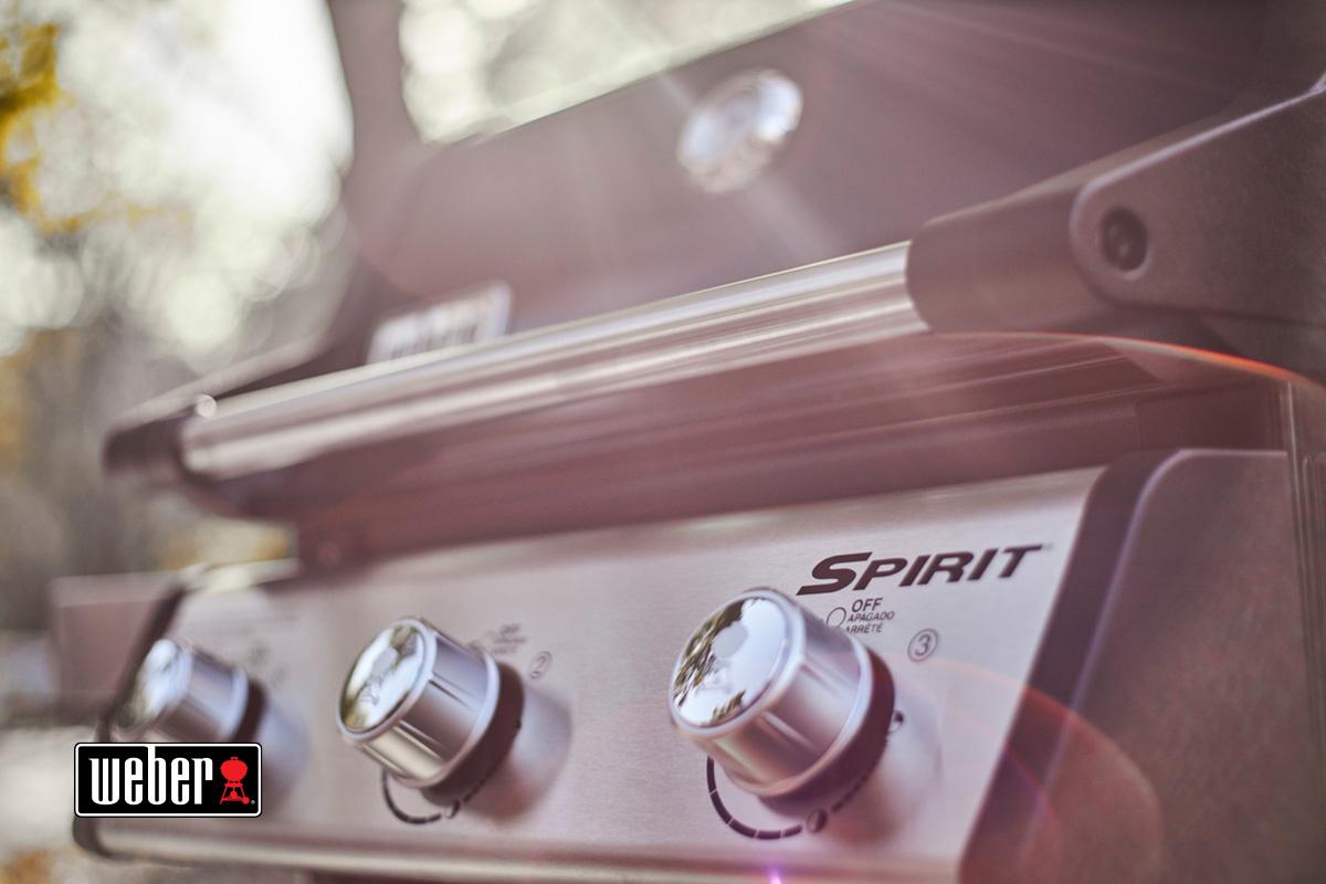 Гриль газовый Spirit EP-315 Premium GBS, черный