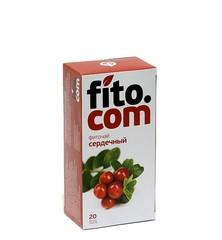 Фиточай, Фитоком Алтай, серии Fito.com, Сердечный, ф/п, 2 г, 20 шт