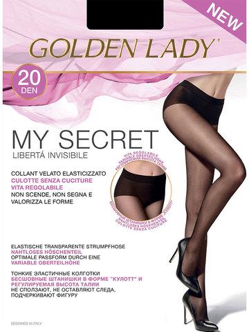 Колготки My Secret 20 Golden Lady