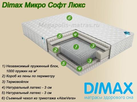 Матрас Димакс Микро Софт Люкс от Мегаполис-матрас