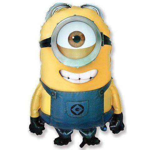 Шар-фигура Миньон одноглазый Стюарт, желтый, 74 см
