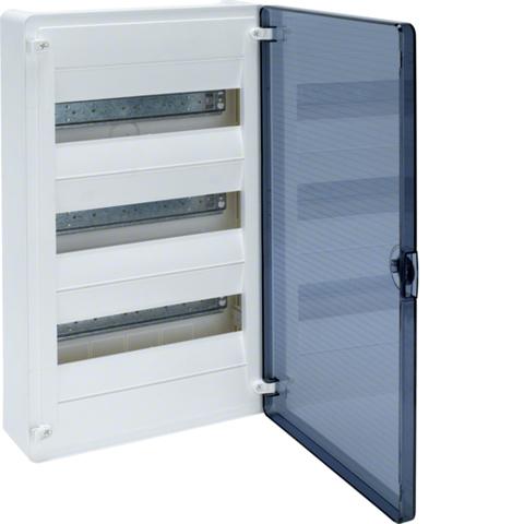 Щит открытой установки, 36М, с прозрачной дверцей