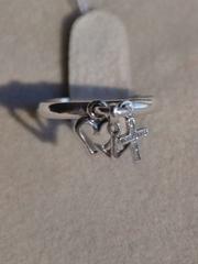 Вера,Надежда,Любовь (кольцо из серебра)