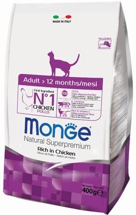 купить Monge Cat корм для взрослых кошек 400 гр