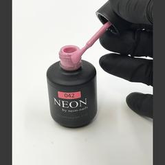 NEON, гель-лак Quartz pink № 042 , (12 ml) розовый дымчатый