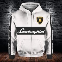 Толстовка утепленная с молнией 3D принт, Ламборджини (3Д Теплые Худи с молнией Lamborghini)