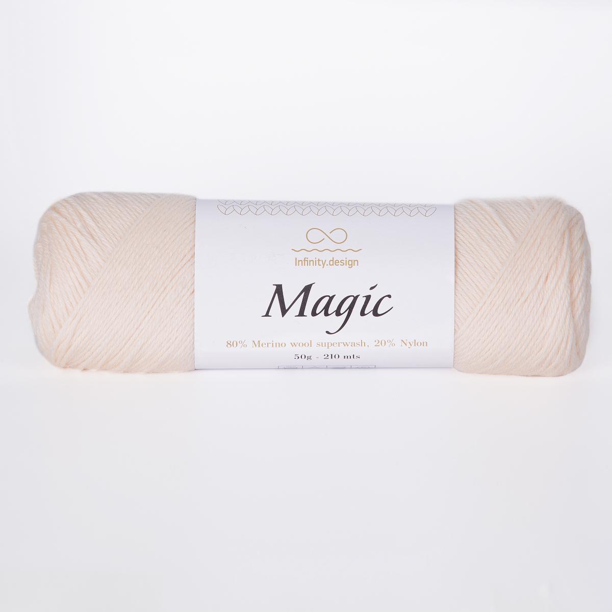 Пряжа Infinity Magic 1012 натуральный