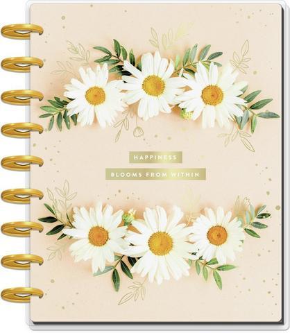 Планер The Happy Planer-Pressed Florals- Classic Guided Journal - 19,5х24,5см