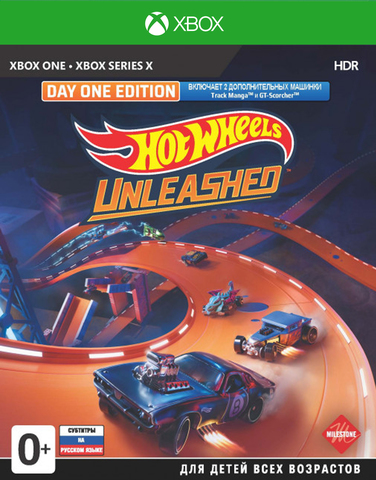Hot Wheels Unleashed. Day One Edition (Xbox, русские субтитры)