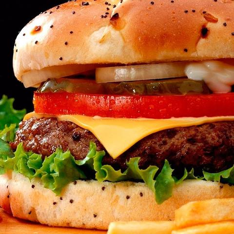 Triple Cheese - бургер
