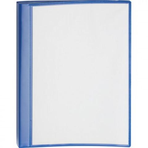 Папка с зажимом Attache Pocket А4 синяя (до 150 листов)