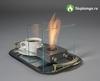 Настольный биокамин Silver Smith Nano 3 Premium серый