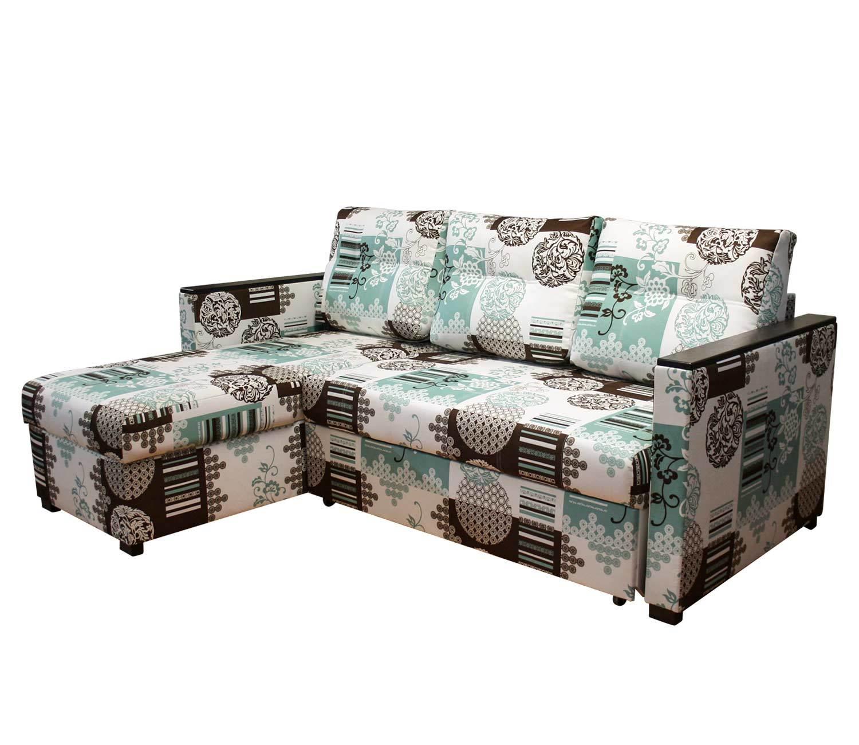 угловой диван-кровать Карелия-Люкс 1я2д с узкими подлокотниками П1