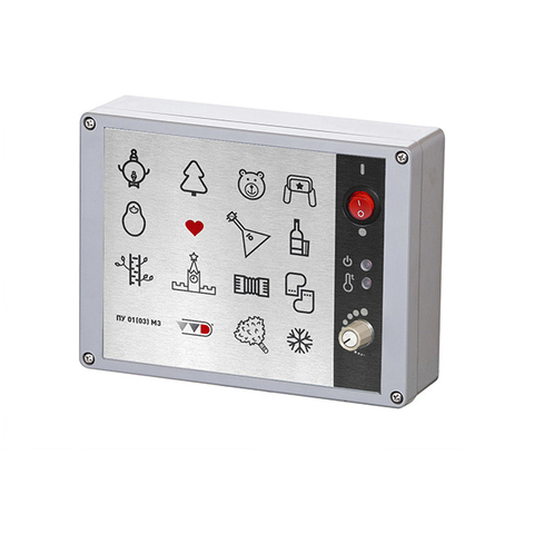 Пульт управления к электрическим печам ПУ-01(03) М3 (аналоговый)  9-12 кВт (380V3N)