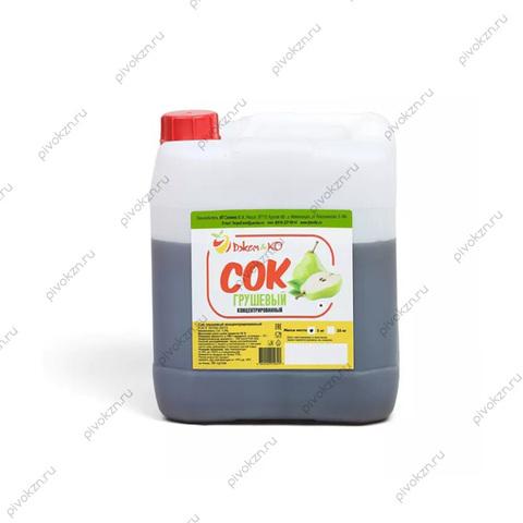 Концентрированный сок «Груша» 5 кг