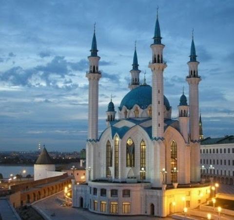 Алмазная Мозаика 40x50 Мечеть Кул Шариф (арт. MGL8329 )