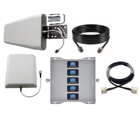 Усилитель сотового сигнала Telestone 5 BAND 800/900/1800/2100/2600-75