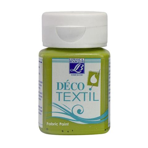 Краска по ткани Lefranc&Bourgeois DECO TEXTIL 50 мл 543, зеленый луг