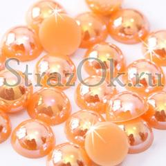 Полубусины купить Peach AB персиковые в интернет-магазине