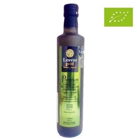 Оливковое масло органик Lesvos gold 500 мл стекло