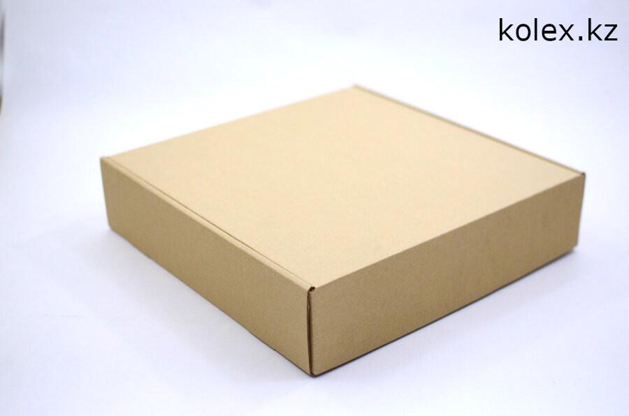 Коробка 350*340*80(мм) бурая