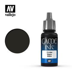 Vallejo Game Color Ink Black