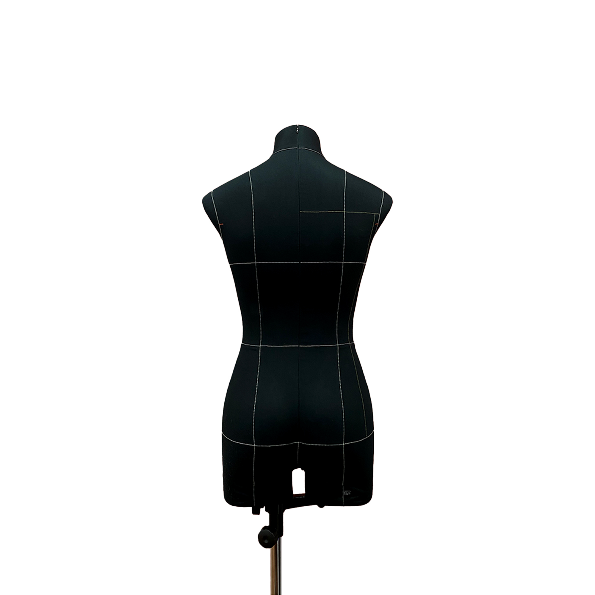 Манекен портновский Моника, комплект Про, размер 44, тип фигуры Прямоугольник, черныйФото 2