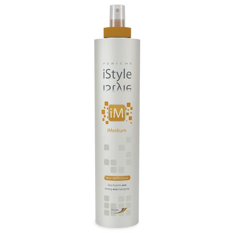 iStyle Лак для волос без газа сильной фиксации - iMedium Eco Definition Periche