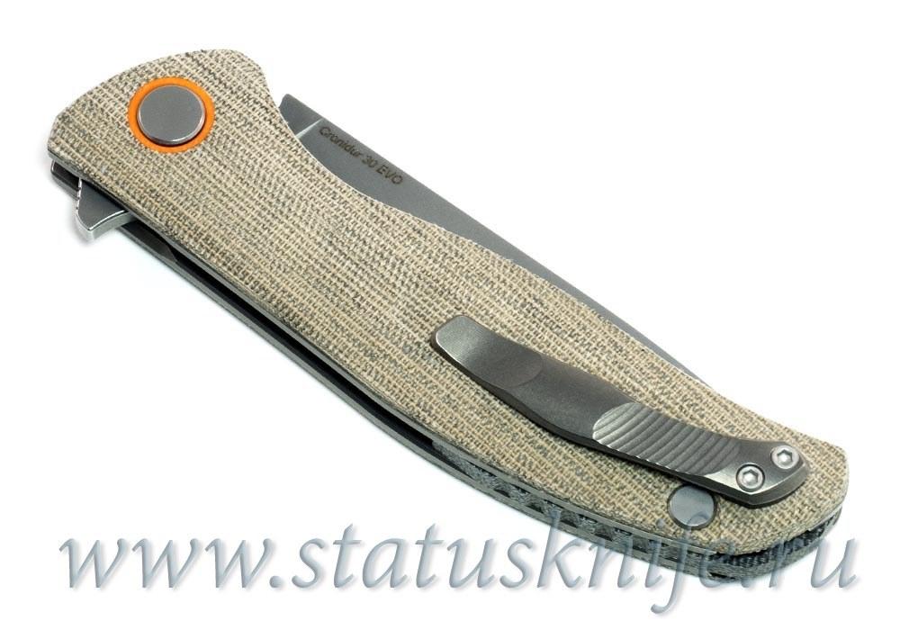 Нож Широгоров Ф3 30 EVO Микарта 3D подшипники - фотография