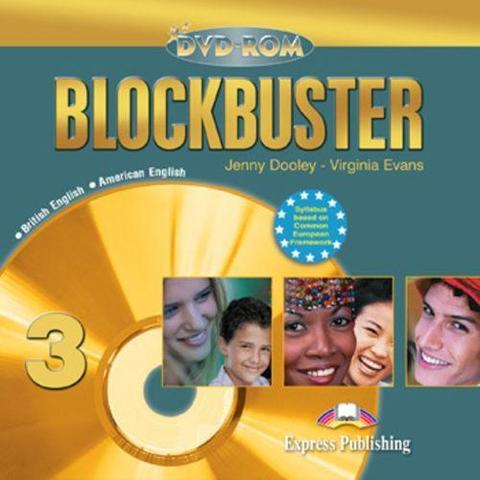Blockbuster 3. DVD-ROM. Pre-Intermediate. (British-American english)(2008)