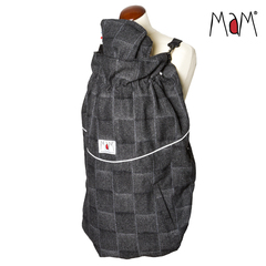 Слингонакидка MaM Exclusive Wool Blend FleX, Серый