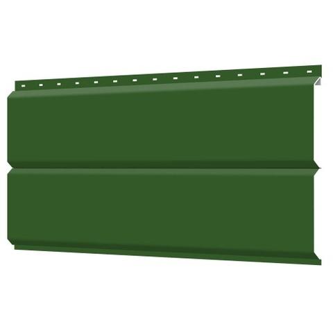 Евробрус сайдинг металлический RAL 6002 Зеленый лист