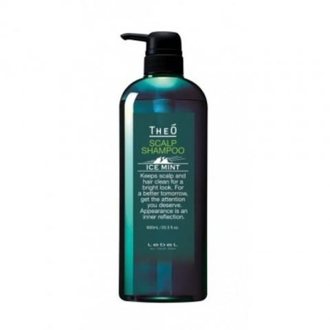 Lebel Theo: Шампунь для мужских волос с водой альпийских ледников (Scalp Shampoo Ice Mint)