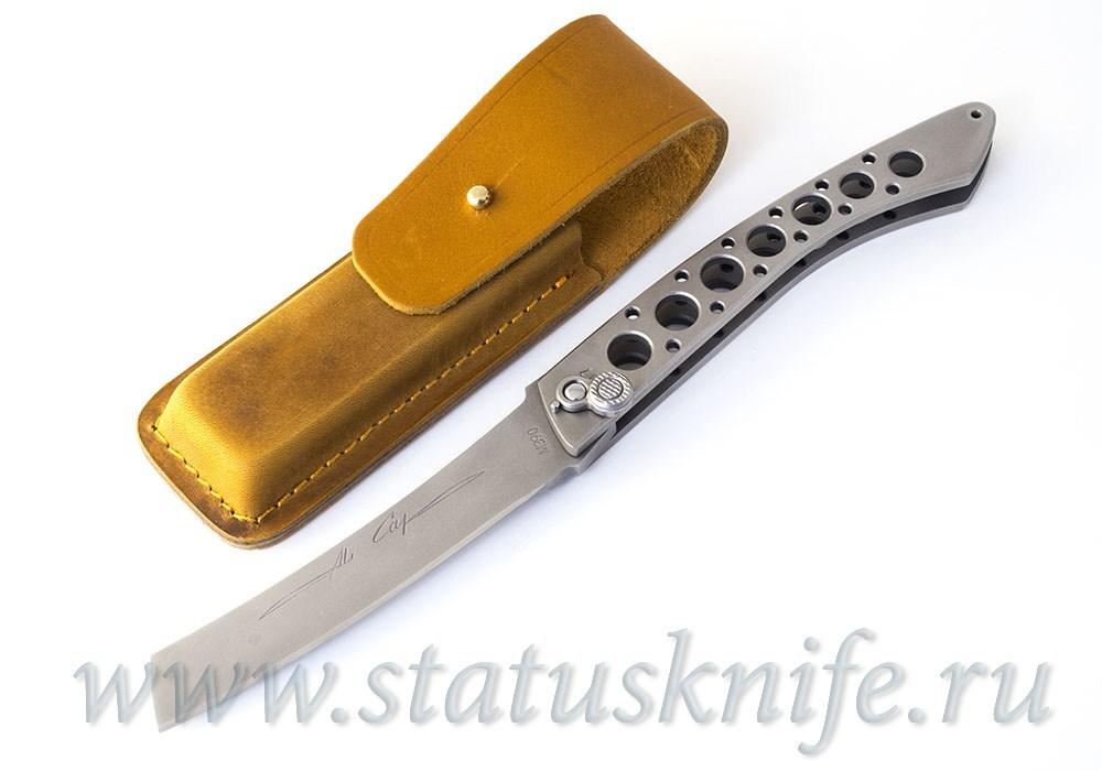 Нож Уракова А.И. Аль Кап M390 - фотография