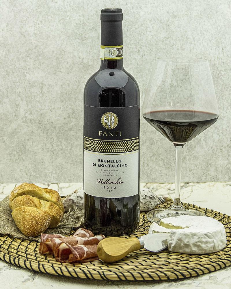 Вино Fanti Брунелло ди Монтальчино Валлоккио Красное Сухое 2013 г.у. 14% 0,75 л.